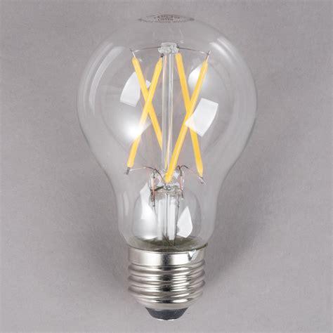 Lu Led 7 Watt Sunfree satco s9876 7 watt 60 watt equivalent clear warm white led light bulb 120v a19