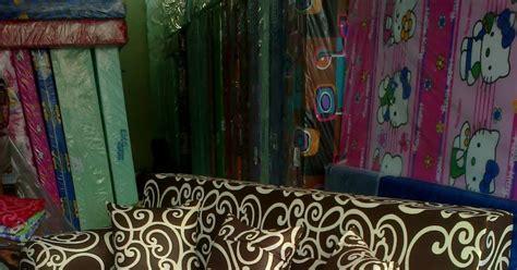 Kasur Busa Atas Bawah sofabed inoac batik coklat agen resmi kasur busa inoac