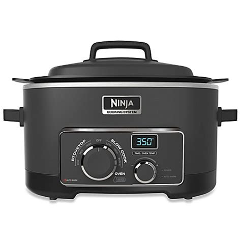 Slow Cooker Bed Bath And Beyond Ninja 174 3 In 1 Cooking System Bed Bath Amp Beyond