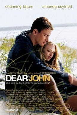 film romance channing tatum dear john 2010 film wikipedia