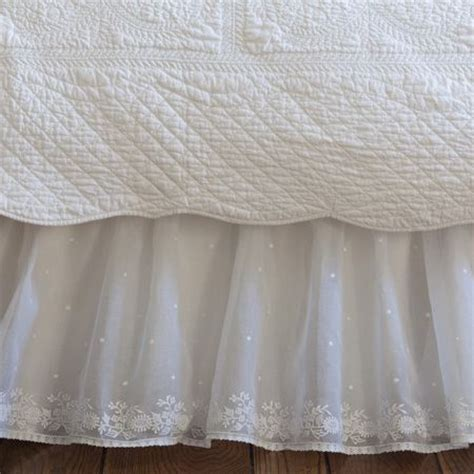 bed skirts twin 1000 images about bed skirts on pinterest lace dust ruffle and crochet lace
