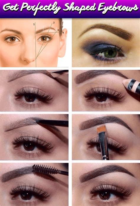 At Home Eyebrow Grooming by Here S The Guide To Diy Eyebrow Shaping Makeup