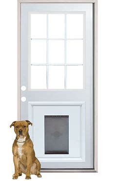 Exterior Door With Pet Door Installed Doors With A Door This Is What You Can Do With A Doggie Door Door Does