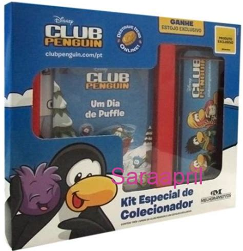 Reporter Club Penguin Book Codes by Saraapril In Club Penguin Club Penguin Portuguese Book Set With Tin Pencil