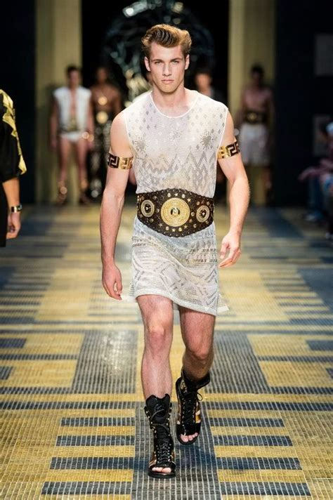 The versace men s fashion show for spring summer 2013 was super hot
