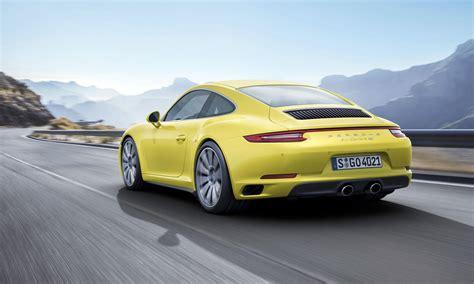 2017 Porsche 911 Carrera 4, Targa 4 Receive 911 Turbo?s