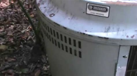 carrier comfort link hvac 36 year old carrier youtube