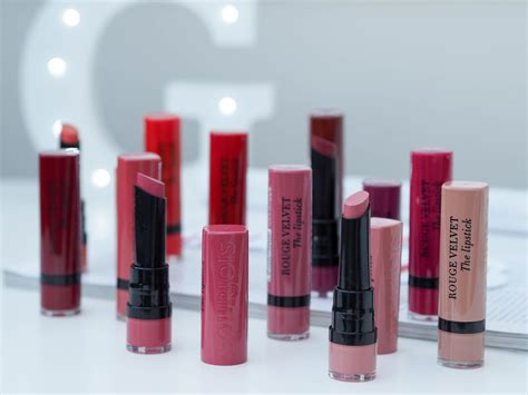 Lipstik Bourjois bourjois velvet matte lipstick collection mapped out uk fashion