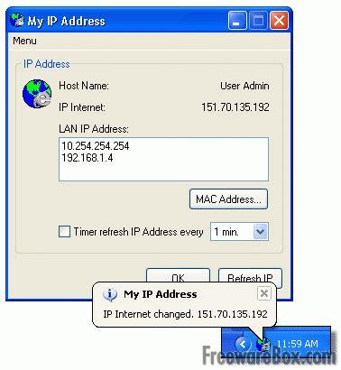 what is my up my ip address freeware screenshot network trace ping tools freewarebox