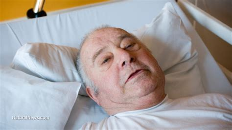cancer man in bed leading democrat refusing dying patients access to