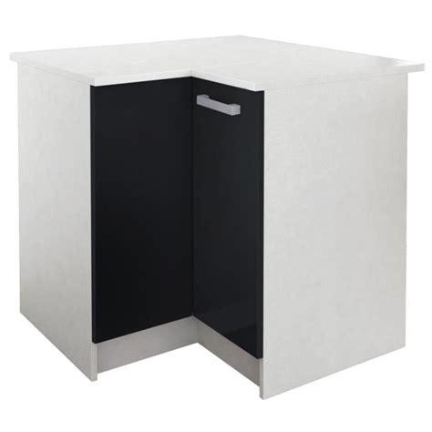 meuble d angle bas cuisine start meuble de cuisine bas d angle avec plan de travail l
