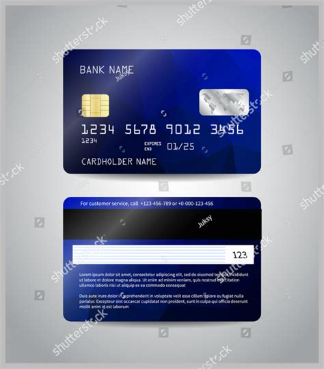 bfgi bank credit card template 10 debit card designs free premium templates