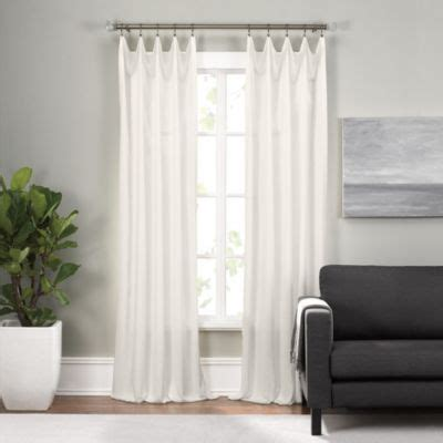 wide pocket valance curtain buy wide rod pocket valance from bed bath beyond