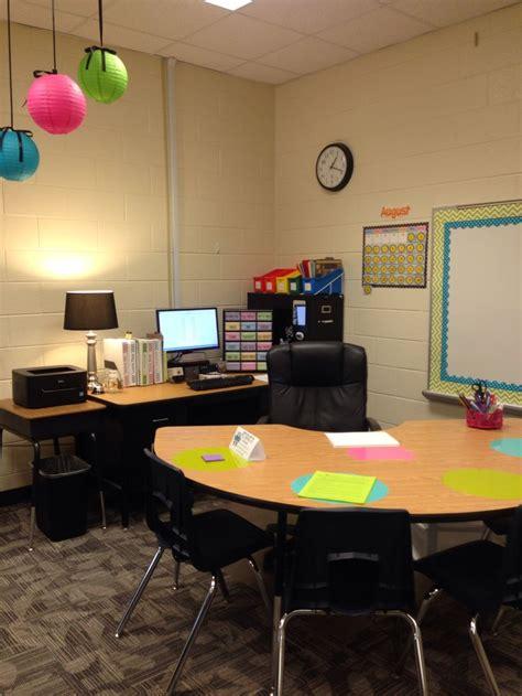 back to desk organization teachers desk with kidney dry erase circles for