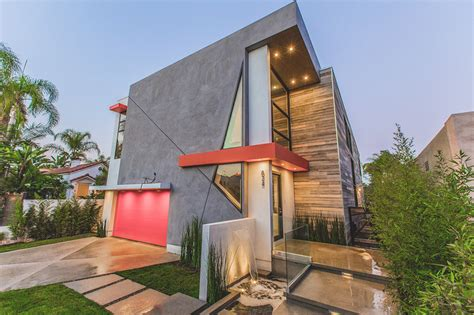 Mediterranean Homes Interior Design La West Modern Home Features Angular Lines And