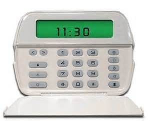 dsc pk5501 sixty four zone fixed lcd keypad with built in
