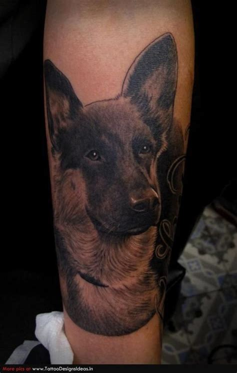 german shepherd tattoo designs german shepherd tattoos