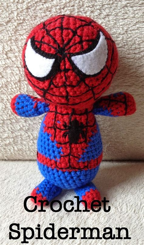 spiderman plush pattern the perfect hiding place crochet spiderman free pattern