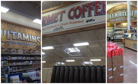 different sections in a supermarket sprouts farmers market opens first georgia store more