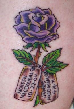 dead rose tattoo meaning meaning of black blue purple and other