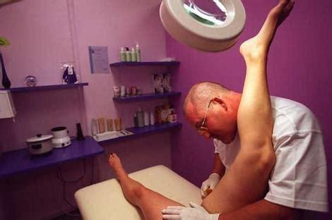 shave sissy with landing strip krista skin pro bikini waxing