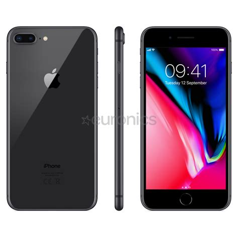 smartphone apple iphone 8 plus 256 gb mq8p2et a