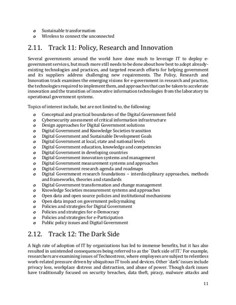 Essay On Institutionalising Innovation by Icegov 2017 2nd Call For Papers