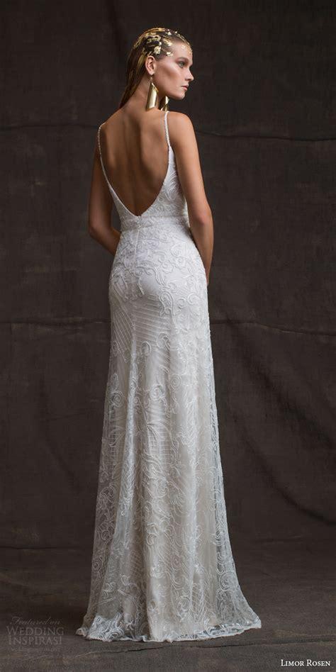 sheath wedding dress limor 2016 wedding dresses treasure bridal