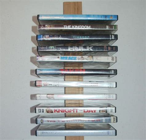 creative diy cd and dvd storage ideas or solutions storage ideas creative and dvd storage rack