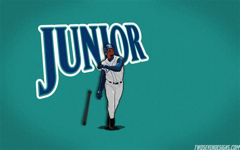 swing man logo ken griffey jr wallpaper wallpaper ideas