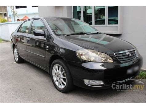 how make cars 2006 toyota corolla seat position control toyota corolla altis 2006 g 1 8 in penang automatic sedan black for rm 35 800 3967116 carlist my