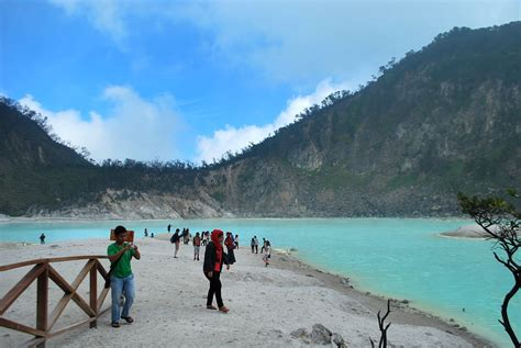 wisata bandung the and also beautiful kawah putih constitute