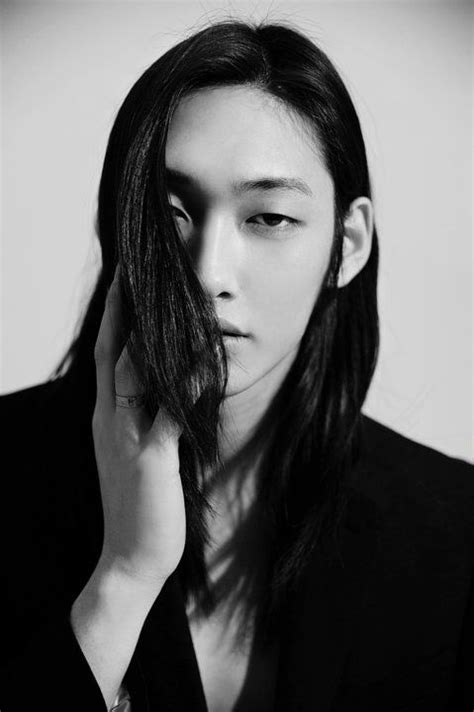 male models with long straight hair fun an edgy asian men hairstyles