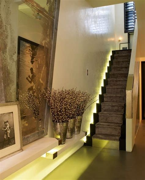 Interior Stair Lighting Ideas by Cool Indoor Stair Lighting Ideas Led Stair Lights