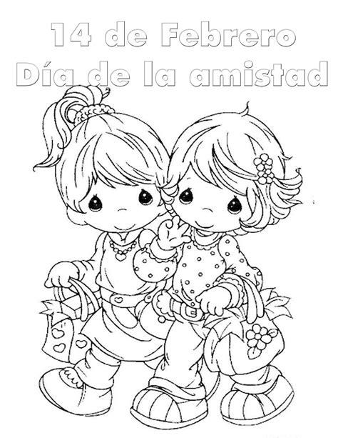 imagenes del amor y la amistad infantiles coloreando dibujos bonitos del d 237 a del amor y la amistad