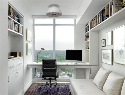 idea dekorasi home office gaya sederhana  ringkas