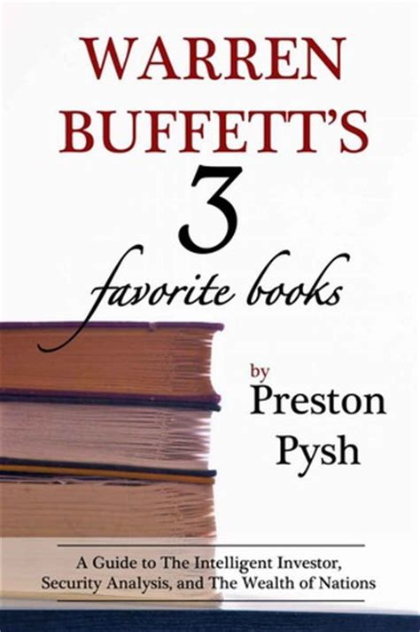 warren buffett s three favorite books by preston g pysh