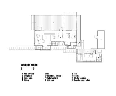 Architect Floor Plans Gallery Of L House Ccm2 Architectes 14