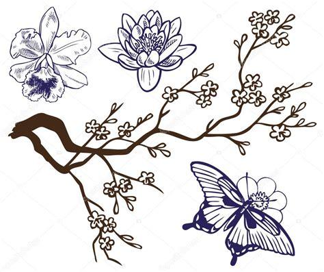 disegni di farfalle e fiori disegni fiori e farfalle