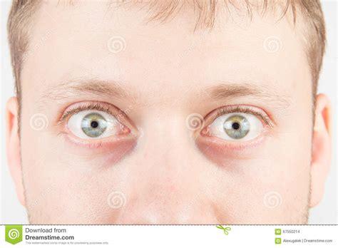 imagenes ojos sorprendidos los ojos sorprendidos del hombre foto de archivo imagen