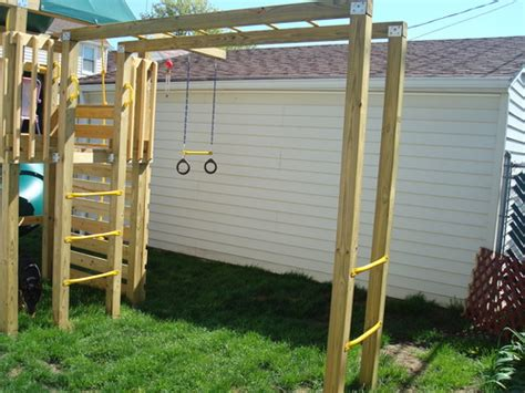 backyard monkey bars amazon com metal monkey bars toys games