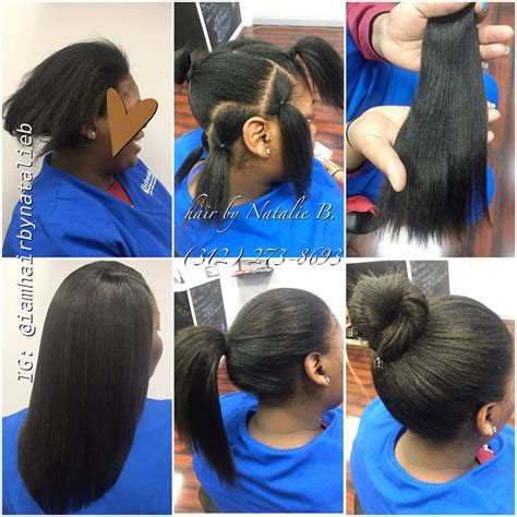 are weave sew ins bad for natural hair now this is a natural looking versatile sew in