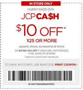 jcpenney furniture coupons 2013