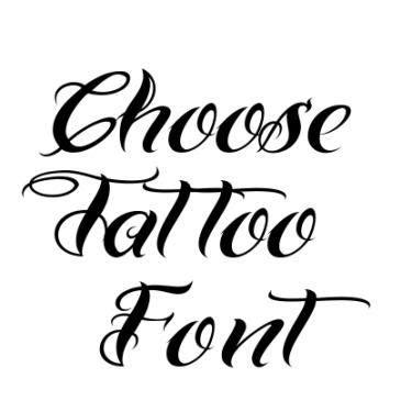 tattoo fonts maker online chicano font for tattoos font generator