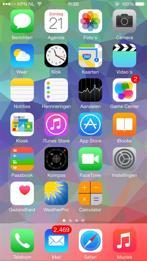 let s see your iphone 6 and 6 home screens iphone