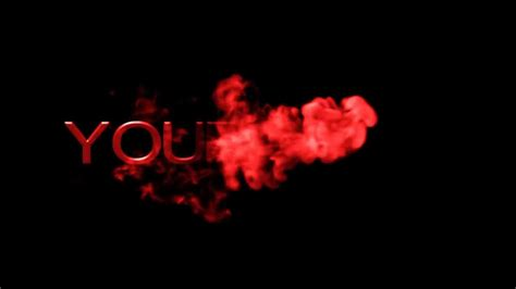 Smoke Intro Red Free After Effects Template Youtube After Effects Smoke Intro Template