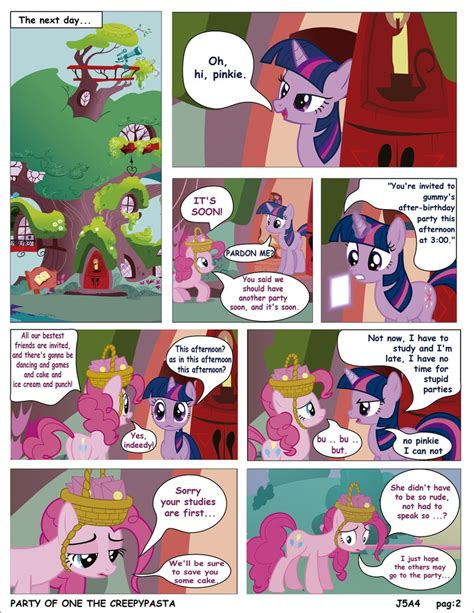 english party of one mlp creepypasta mlp party of one pag 2 creepypasta english by j5a4 on