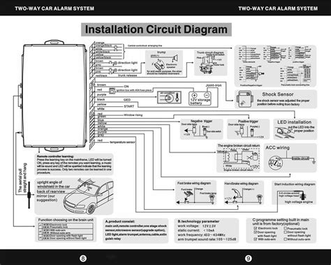 commando alarms car wiring diagrams wiring diagram