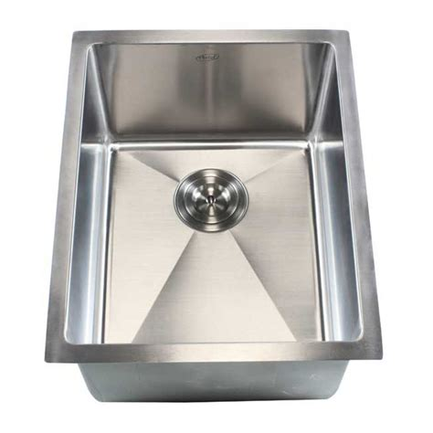 10 Undermount Bar Sink by Ariel 16 Inch Stainless Steel Undermount Single Bowl
