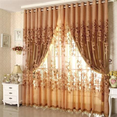 brown and burnt orange curtains orange and brown curtains teawing co